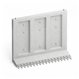 Стеновые блоки коллекторных панелей